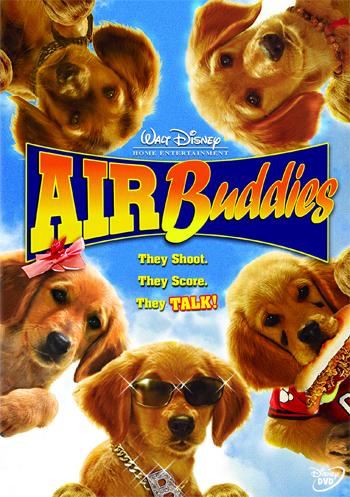 "[Disney] La Saga ""Air Bud"" (2 films + 12 suites vidéos de 1997 à 2012) 2006-airbuddies-1"