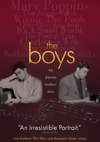 Jaquette the boys : the sherman brothers' story