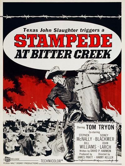 Stampede at Bitter Creek (Texas John Slaughter)