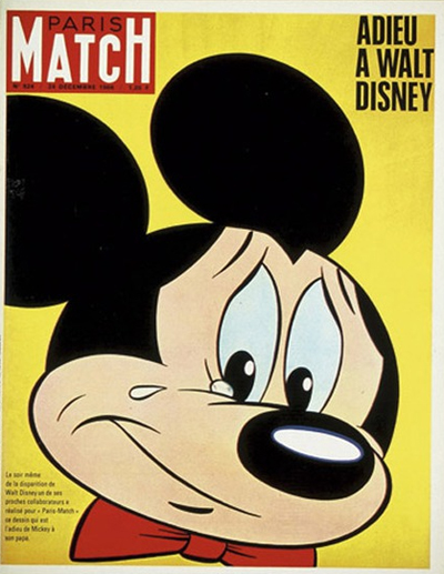 Paris Match : Adieu à Walt Disney