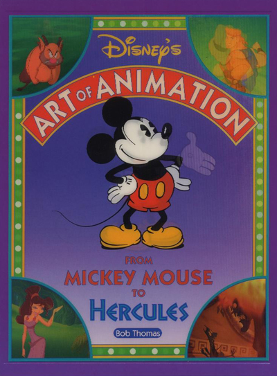 Disney's Art of Animation - 2ème Édition : From Mickey Mouse to Hercules