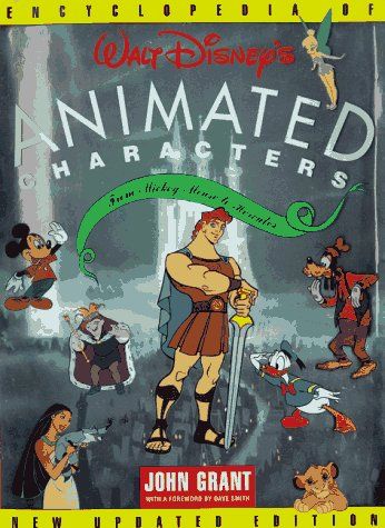 Encyclopedia of Walt Disney Animated Characters - 3ème Édition
