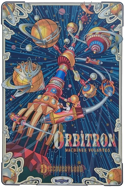 Orbitron, Machines Volantes