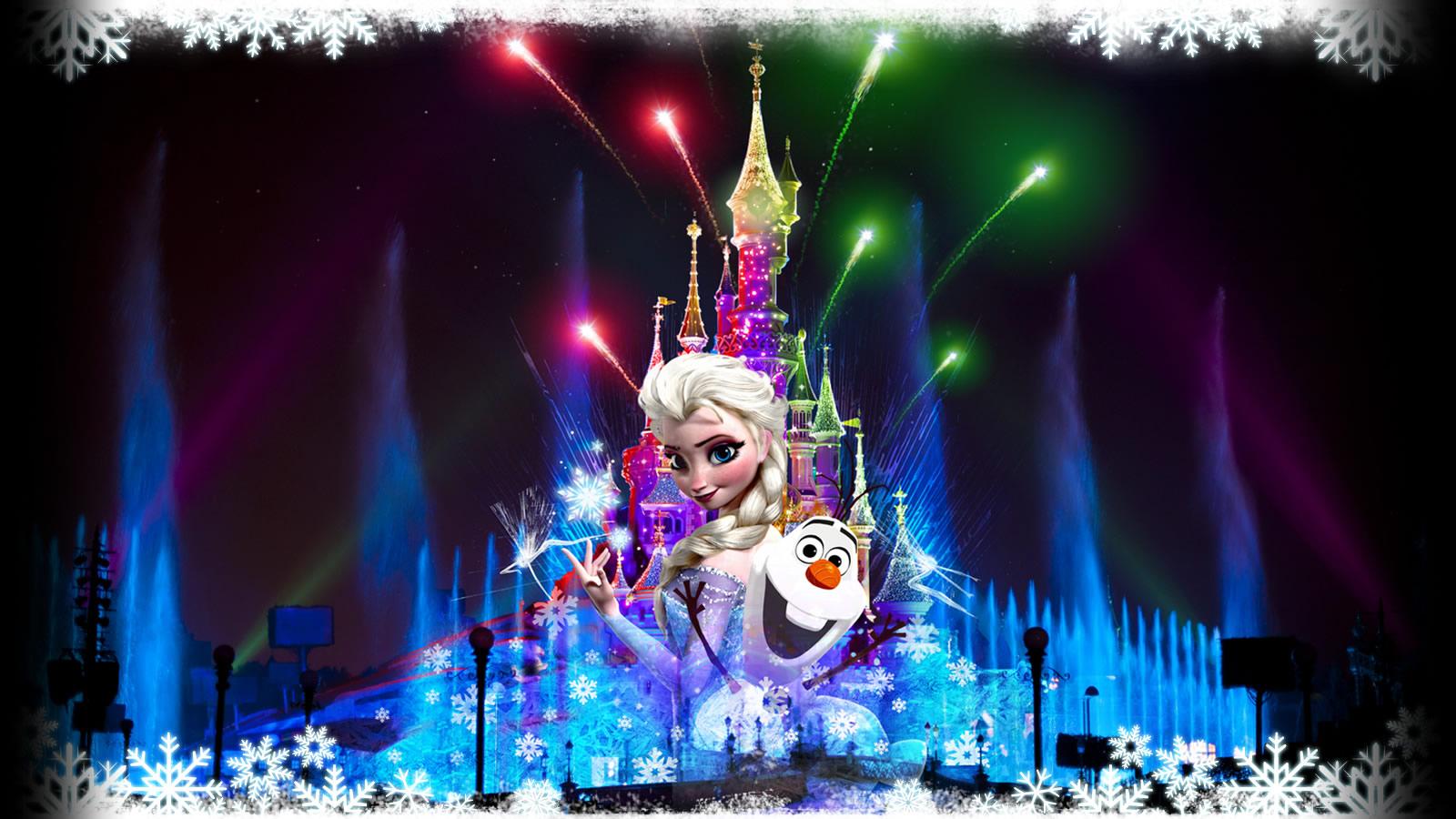 Disney dreams f te no l version 2013 disneyland paris - Joyeux noel disney ...