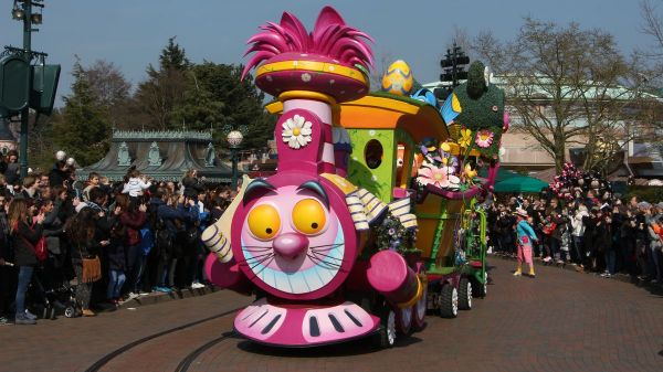 Le Petit Train du Printemps de Minnie
