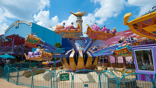 Tapis Volants - Flying Carpets Over Agrabah