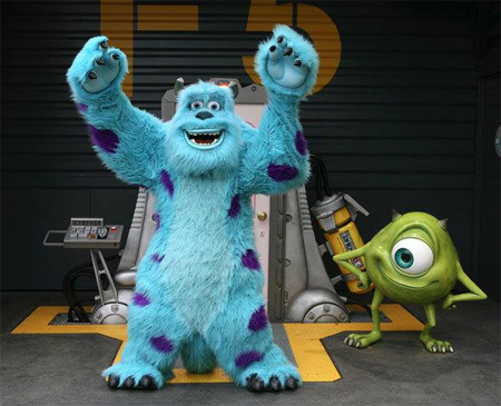 Monsters, Inc. Scream Scene