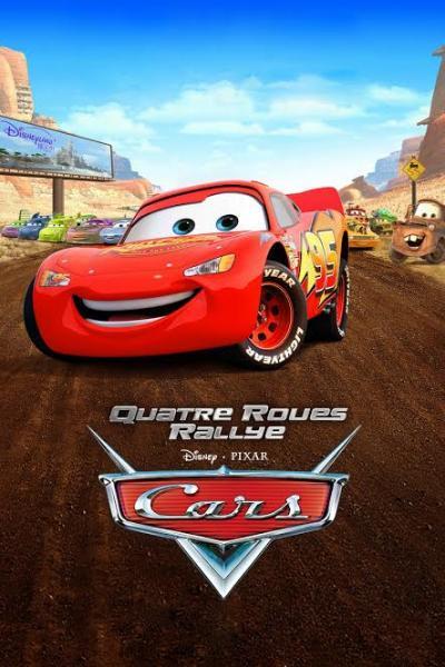 Cars Quatre Roues Rallye Attraction Toon Studio