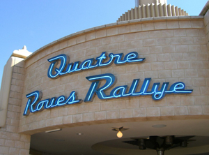 Cars Quatre Roues Rallye Attraction Toon Studio Disneyland Paris