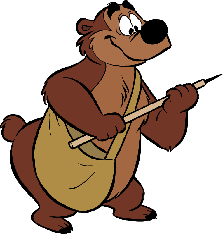 Humphrey l 39 ours chronique disney portrait personnage - Dessin d un ours ...
