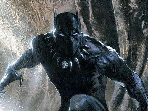 Black Panther Chronique Disney Portrait Personnage Marvel