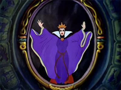 La reine grimhilde chronique disney portrait for Blanche neige miroir miroir film