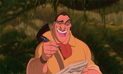 Clayton - Chronique Disney - Portrait Personnage Méchant