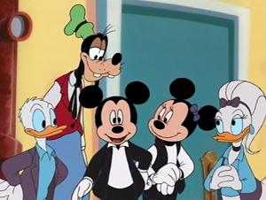 Mickey mouse chronique disney portrait personnage mickeyville - Maison de mickey halloween ...