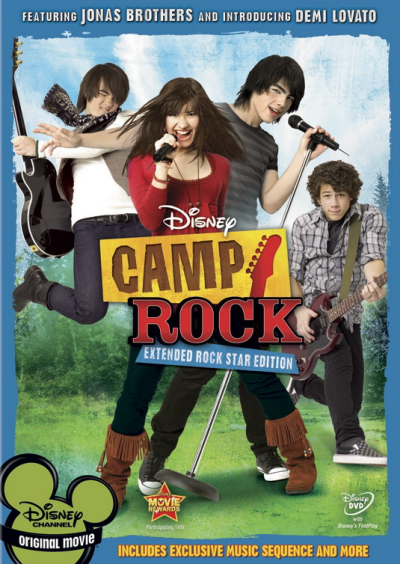Jaquette Camp Rock