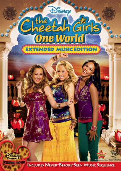 Jaquette Cheetah Girls : Un Monde Unique
