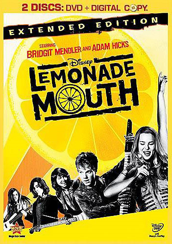 Jaquette Lemonade Mouth