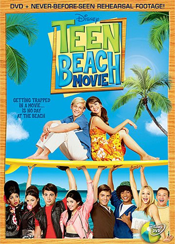 Jaquette Teen Beach Movie