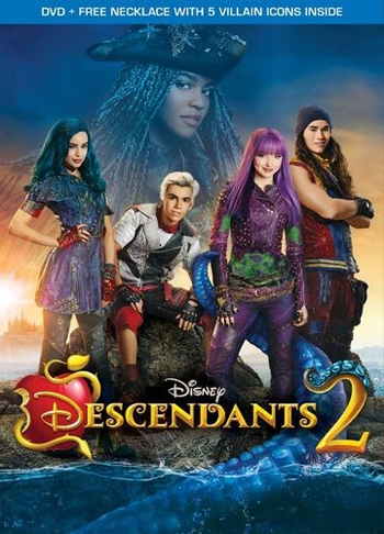 Jaquette Descendants 2