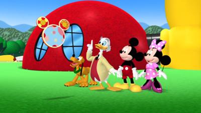 Réservée Aux Plus Jeunes Des Téléspectateurs, La Maison De Mickey Est Une  Série De Disney Television Animation, Créée Par Bobs Gannaway, Comprenant 4  ...