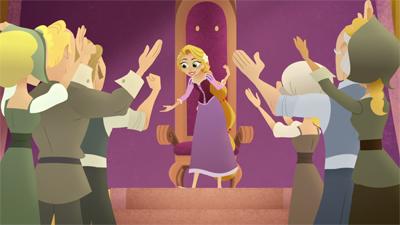 Raiponce Le Rôle D Une Reine Téléfilm Disney Television Animation