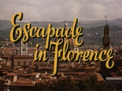 Escapade in Florence