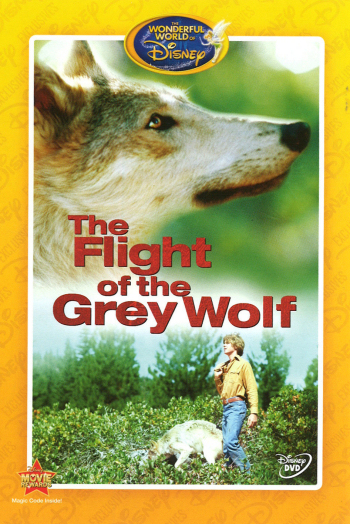 Jaquette The Flight of the Grey Wolf