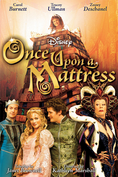 Jaquette Once Upon a Mattress
