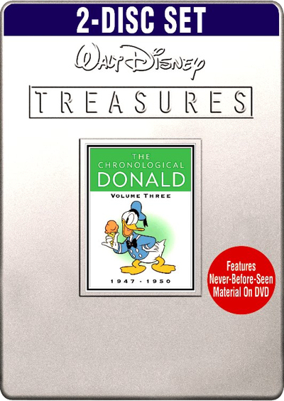 Walt Disney Treasures - Donald : De A à Z - Volume 3