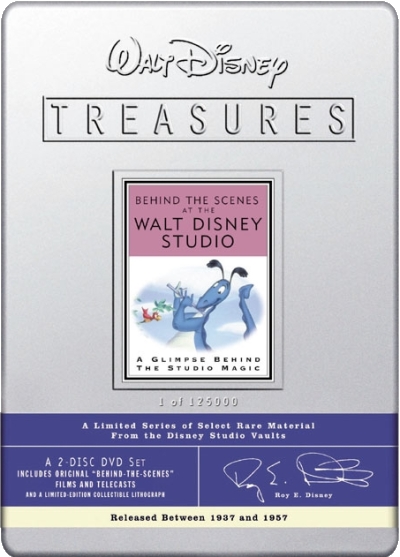 Walt Disney Treasures - Les Coulisses des Studios Disney
