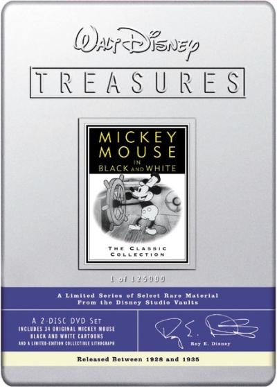 Mickey Mouse Les Annees Noir Et Blanc V1 Walt Disney Treasures
